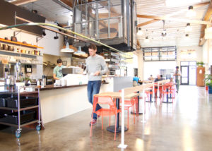 best coffee cities in the United States_Portland_elevator