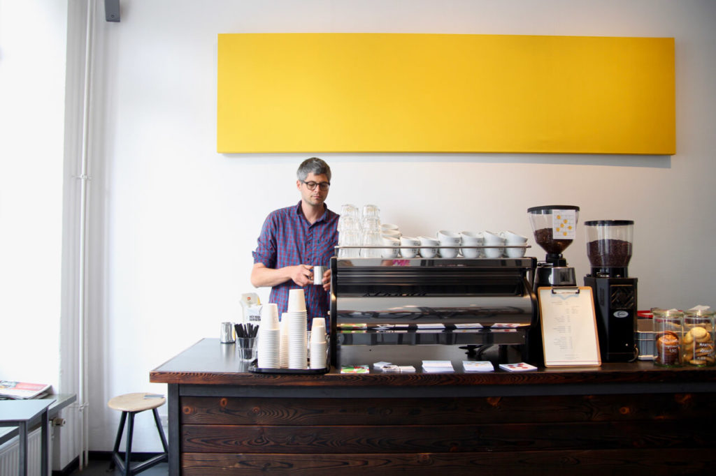 Your walking guide to specialty coffee in Berlin Kreuzberg part 2_nano kaffee_ramin at work