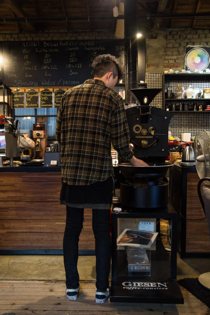 Specialty Coffee in Seoul_5 brewing_roaster