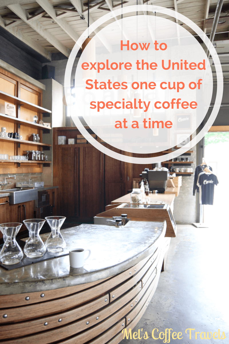how to explore the United States on specialty coffee