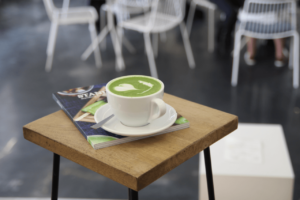 Your walking guide to specialty coffee in Berlin Kreuzberg part 2_the visit_matcha latte