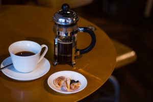 how to not get over caffeinated in Tokyo_maruyama coffee_dried fruit pairing