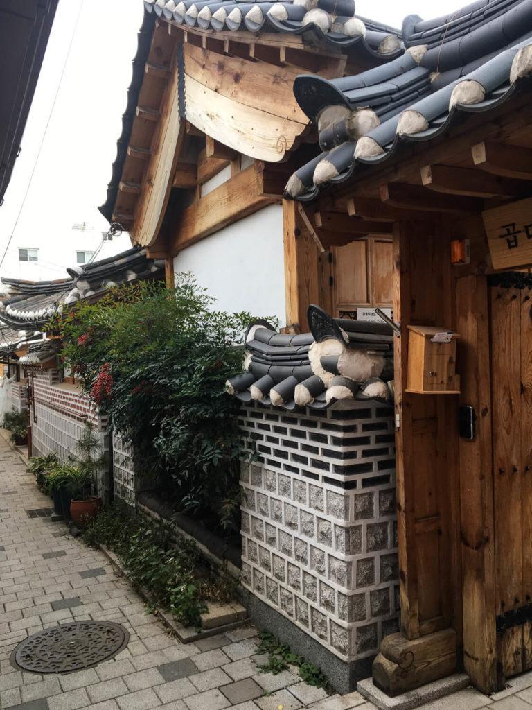 Specialty Coffee in Seoul_bukchon hanok village_old houses